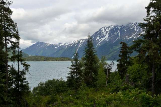 Mountain Lake near Cooper Landing, AK