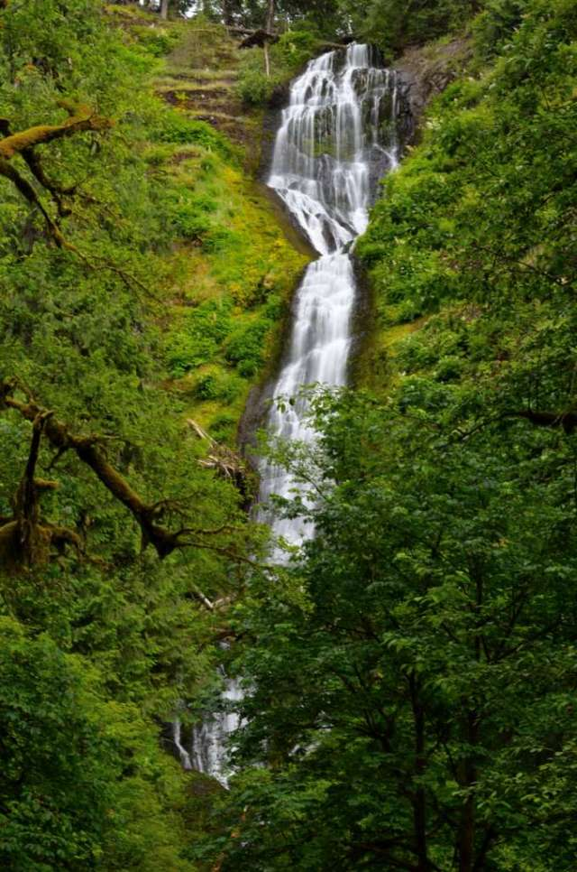 Munson Creek Waterfall in OR