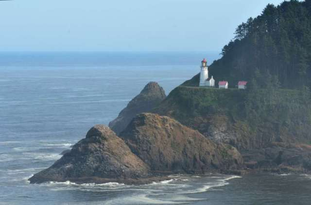 Early morning at Heceta Head Lighthouse, Oregon