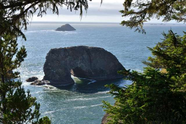 Arch Rock on the south Oregon coast.