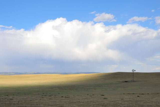 View of part of the Wyoming prairie