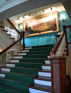 Grand Staircase & Painting